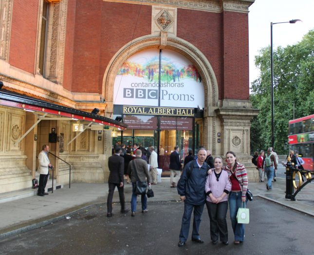 BBC Proms 2010, no Royal Albert Hall em Londres!!