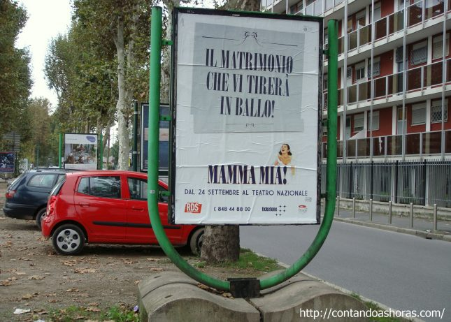 Musical Mamma Mia, em Milão
