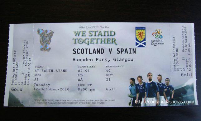 Euro 2012: Escócia x Espanha, em Glasgow