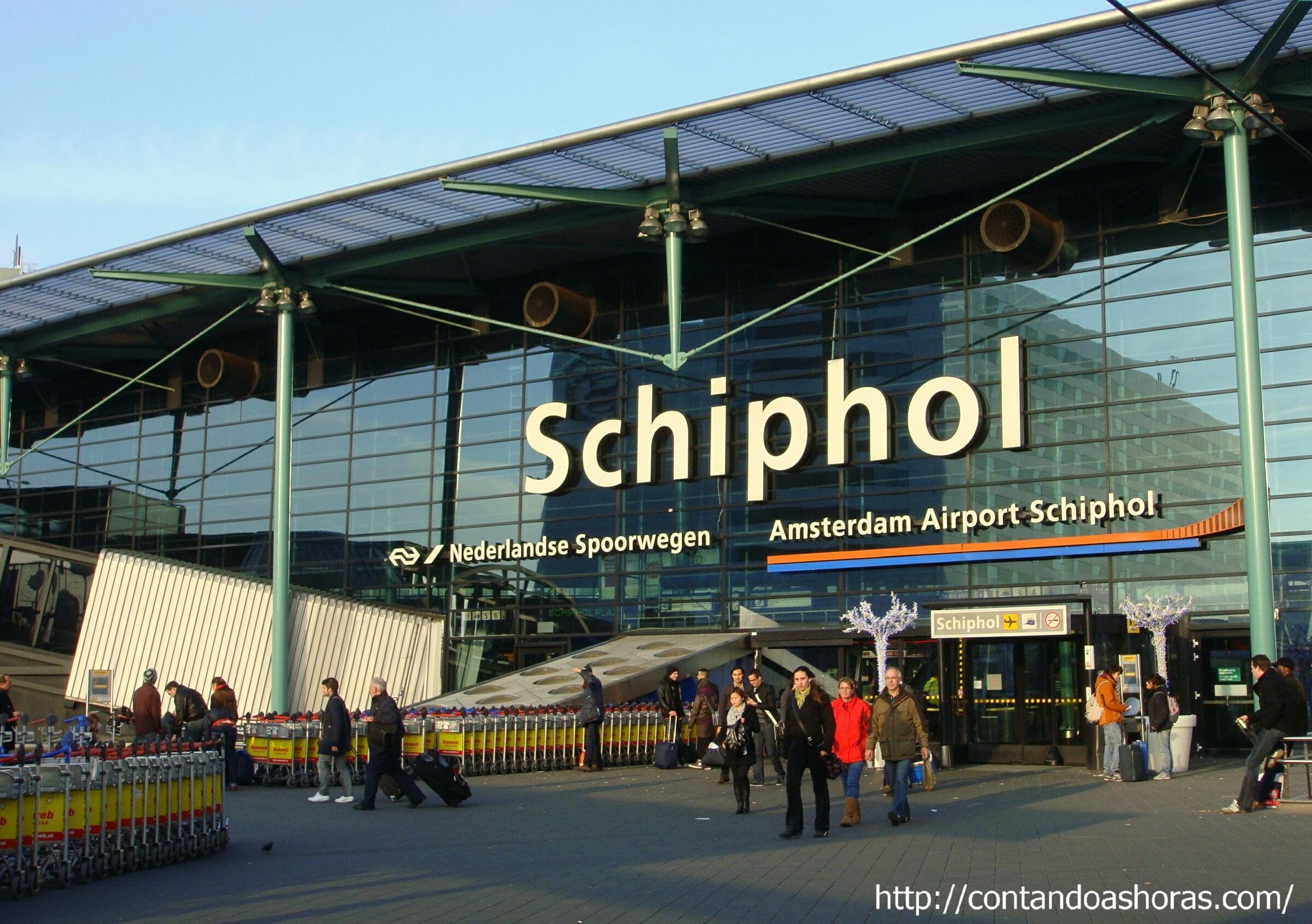 Aeroporto Amsterdam : Contando as horas arquivos roteiro amsterdam holanda