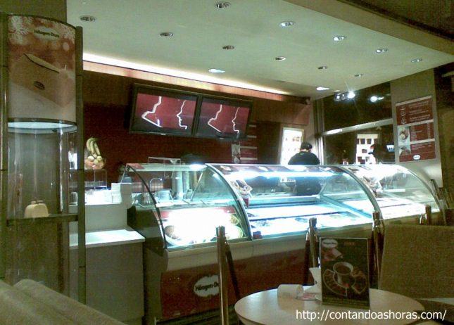 Bruxelas: Fondue de Chocolate da Häagen Dazs