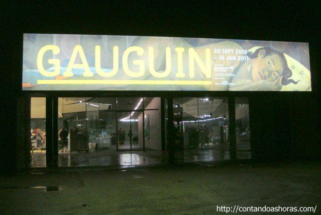 Exposição Gauguin no Tate Modern, em Londres