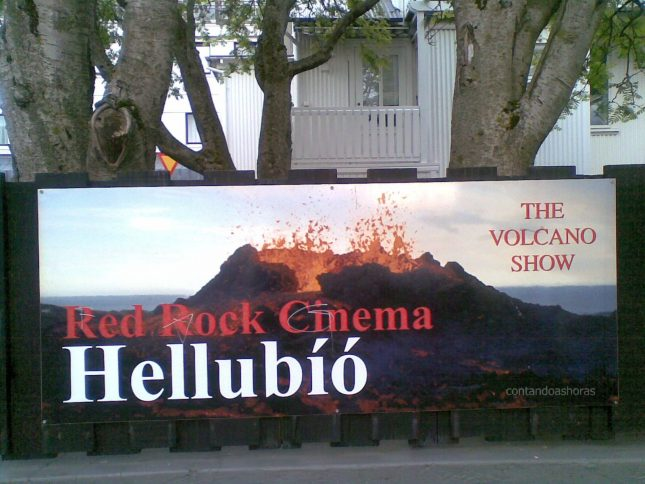 The Volcano Show, em Reykjavík