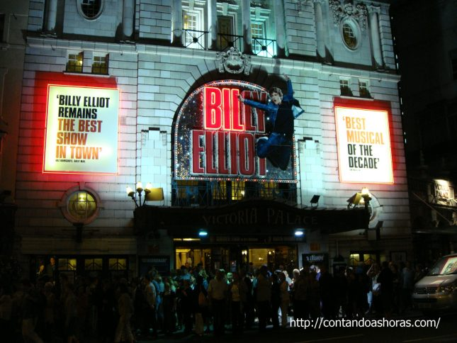 Victoria Palace Theatre e Musical Billy Elliot