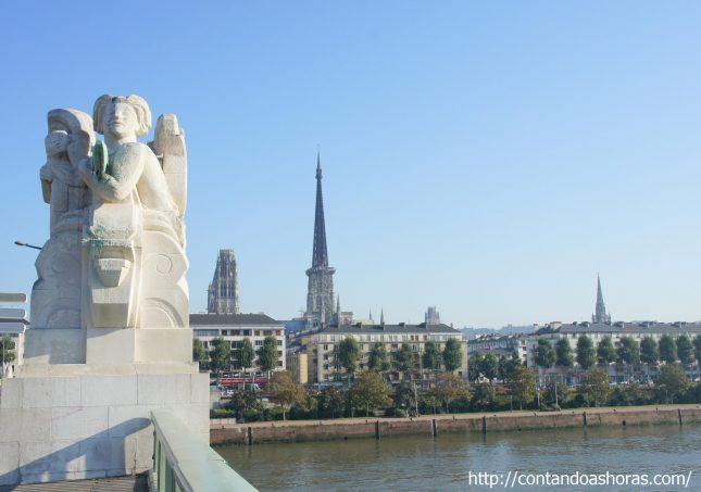 Rouen, a cidade de Joana D'Arc
