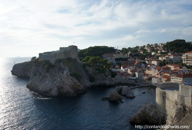 Últimas horas em Dubrovnik: Forte St Lawrence, War Photo Limited e Aeroporto