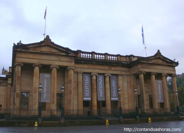 Edimburgo: Galeria Nacional Escocesa