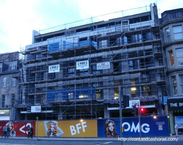 Edimburgo agora também tem uma Primark!