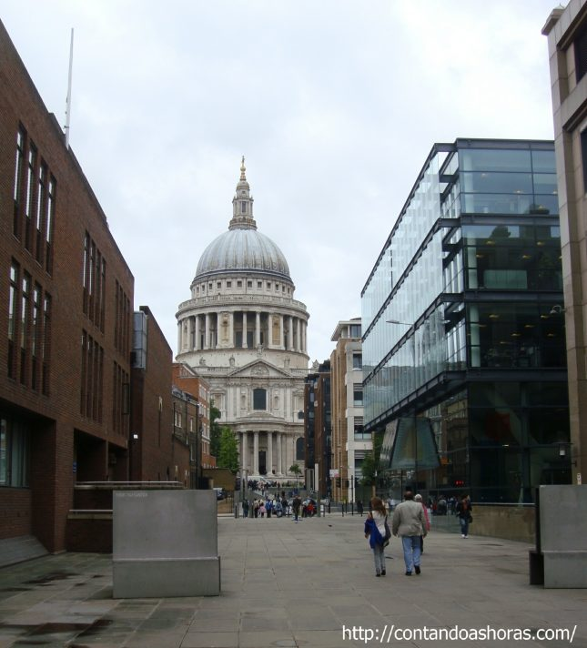 Londres vista do topo da Catedral de St Paul