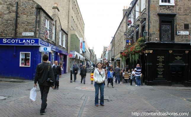 Rose Street, em Edimburgo!