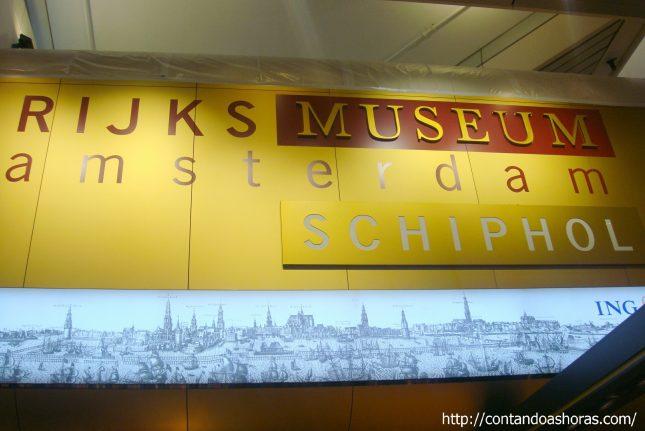 Rijksmuseum – Agora também no Aeroporto de Schiphol