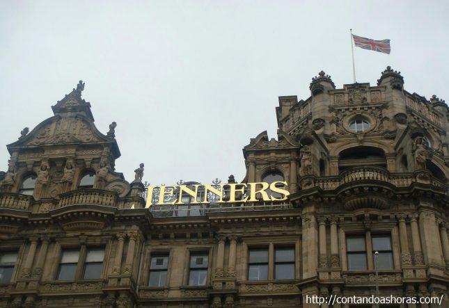 Jenners, a maior loja de departamento da Escócia