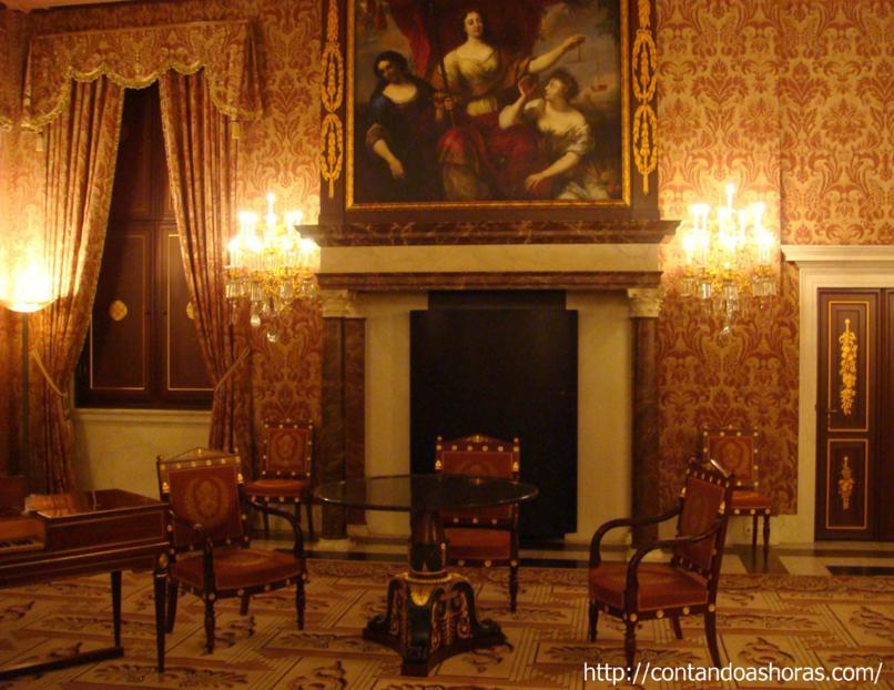 Sala De Jantar Usada Antiga ~ Já na Sala dos Burgomestres, foi onde aconteceu em 1949 a cerimônia