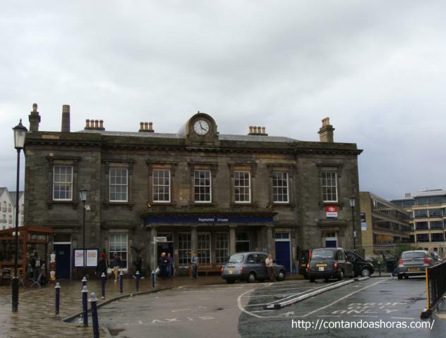Haymarket Station, em Edimburgo