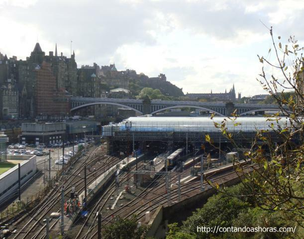 Waverley Station vista dos fundos