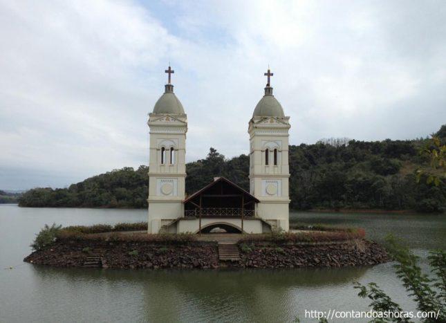 A cidade que ressurgiu do fundo do Rio Uruguai