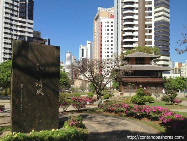 Curitiba: Praça do Japão, a praça mais bonita da cidade