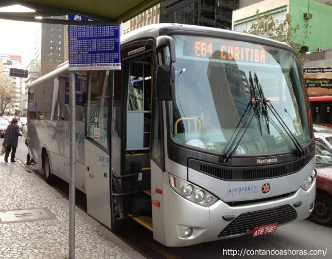 Aeroporto Executivo: o ônibus que liga o Aeroporto ao centro de Curitiba