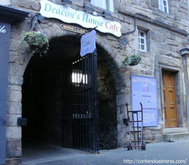 Os Wynds e os Closes de Edimburgo