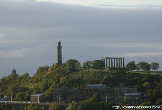Edimburgo do alto do Calton Hill