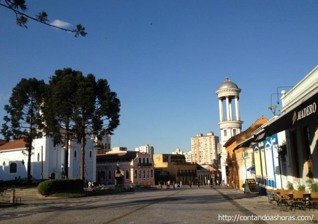 Um passeio pelo Centro Histórico de Curitiba