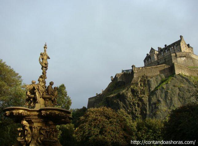 Edimburgo: Princes Street Gardens, o parque mais popular da cidade