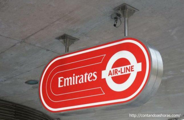 Londres: Teleférico Emirates Air Line