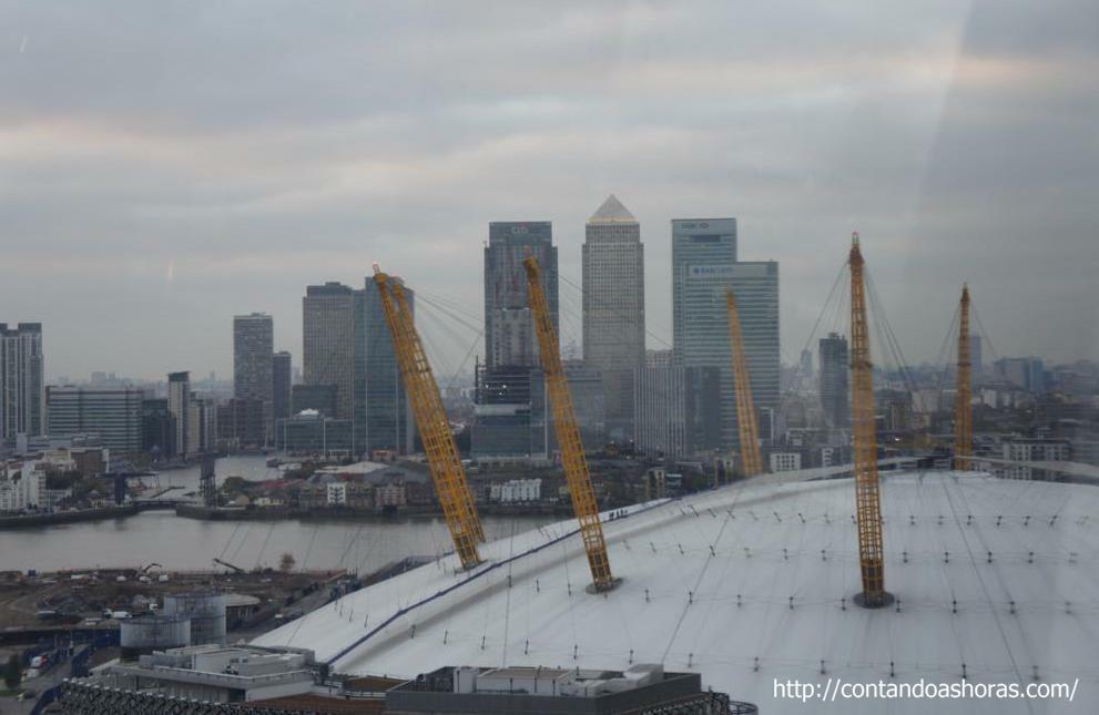 O2 e Canary Wharf