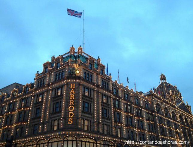 Londres: O tradicional Chá da Tarde na Harrods