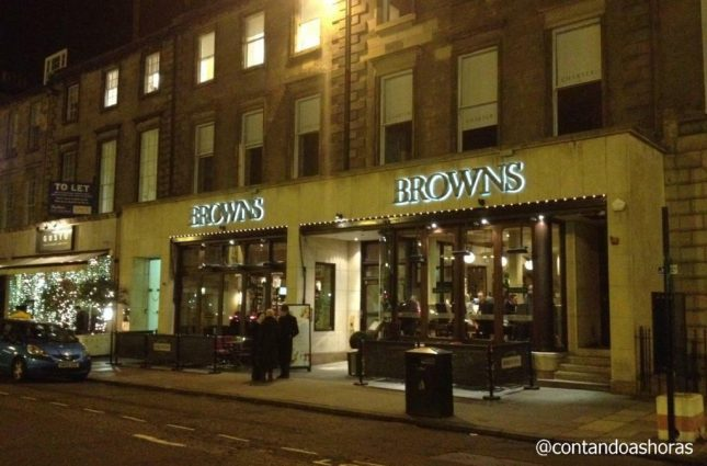 Edimburgo: Browns Bar & Brasserie