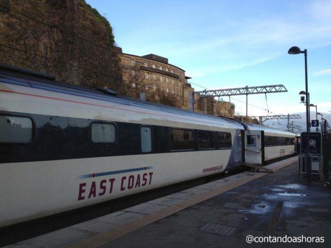 Como ir de Londres a Edimburgo de Trem
