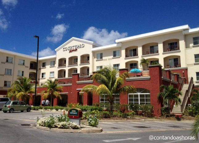 Dica de Hotel em Barbados: Courtyard by Marriott Hotel