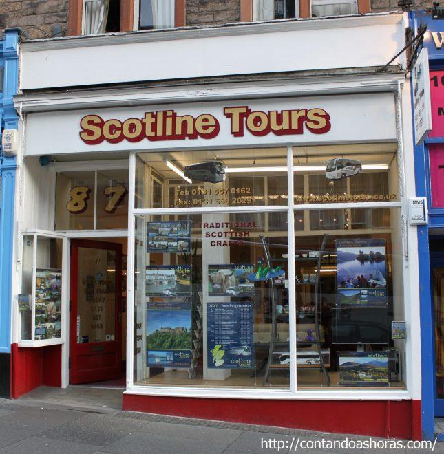 Empresas que oferecem tours pela Escócia partindo de Edimburgo