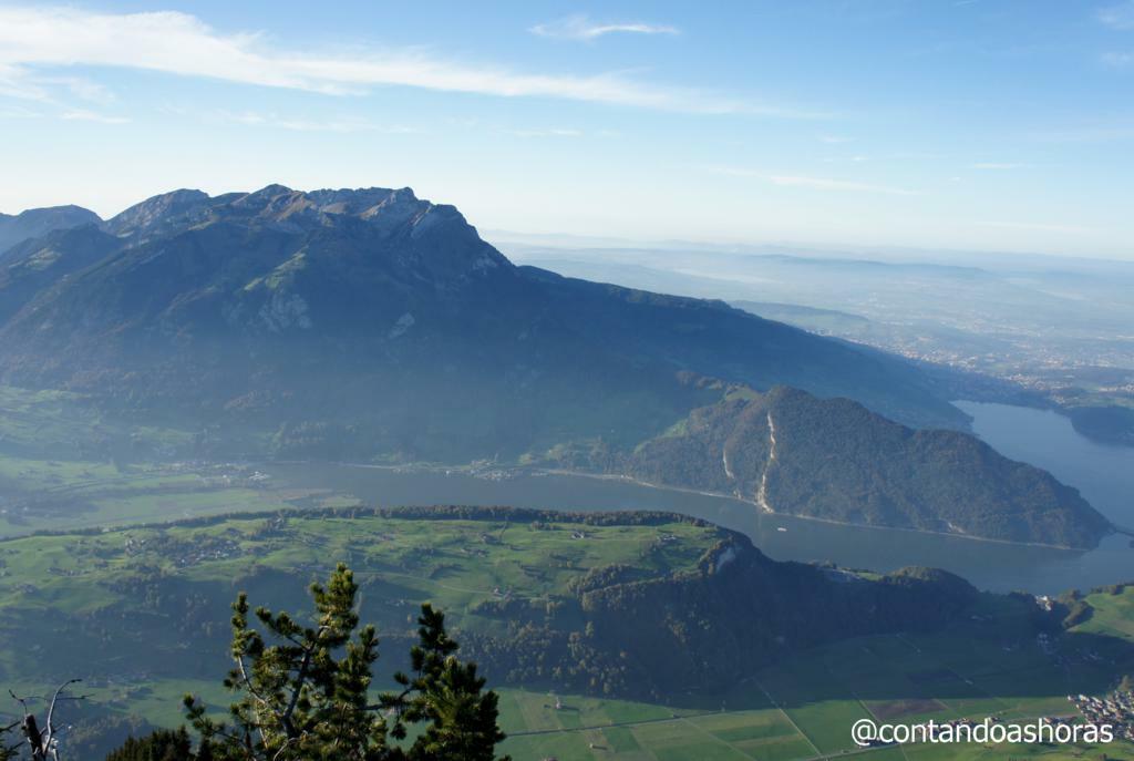 Monte Pilatus visto do Monte Stanserhorn