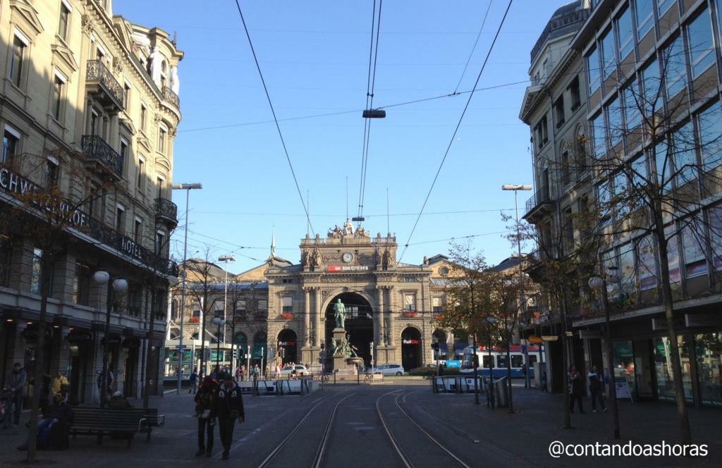 Estação de Trem de Zurique