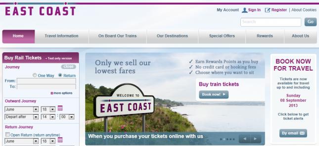 Passo a passo pra comprar uma passagem de trem entre Londres e Edimburgo