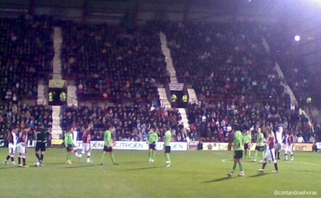 Hearts x Celtic em Edimburgo