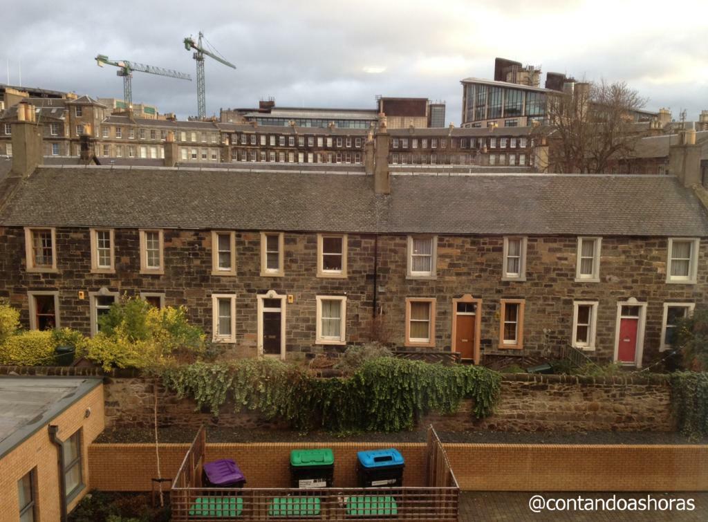 A vista a partir do meu flat