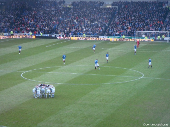 Rangers x Celtic no Ibrox Stadium
