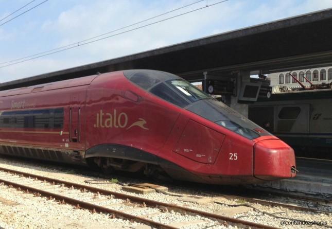 Italo: o mais novo trem de alta velocidade da Itália
