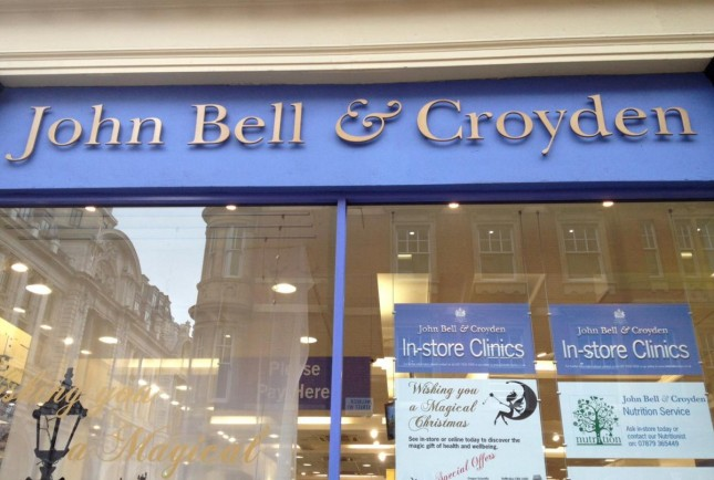 Beauty: Londres – John Bell & Croyden