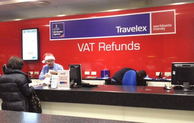 Londres: Tax Free – Recebendo o dinheiro do VAT no aeroporto de Heathrow