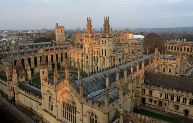 Um dia em Oxford, a cidade onde fica a Universidade mais antiga do UK