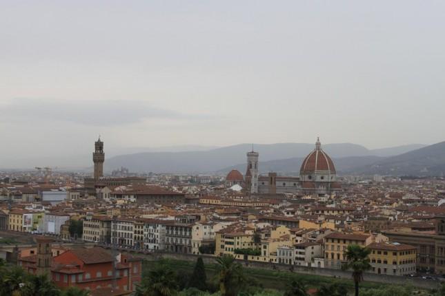 Piazzale Michelangelo, um dos melhores lugares para ver Florença do alto