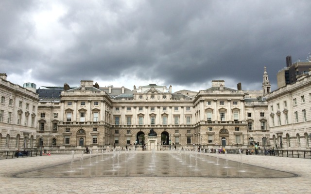 Londres: Courtauld Gallery, na Somerset House