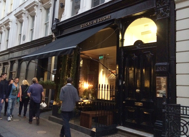 Dica de Restaurante em Londres: Sticks'n'Sushi, no Covent Garden