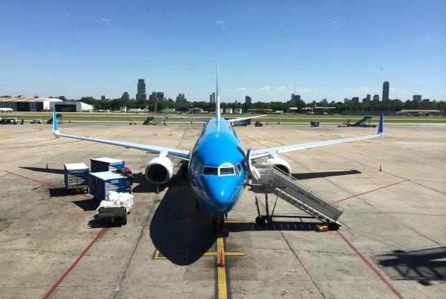 Voando Aerolíneas Argentinas e Austral