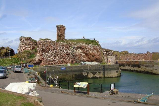 Escócia: Dunbar – A última cidade antes da fronteira entre Escócia e Inglaterra e o inicio da trilha John Muir Way