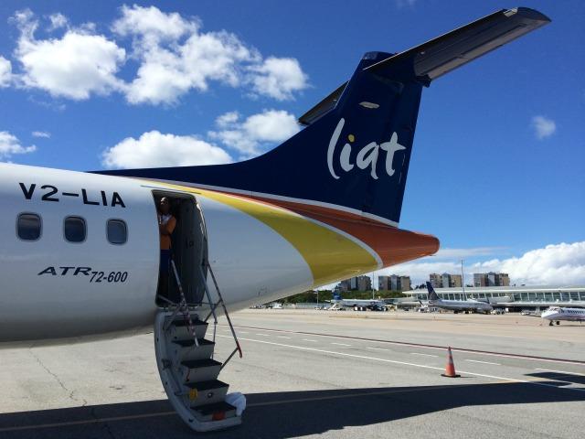 Caribe: Voando Liat Airline pela primeira vez