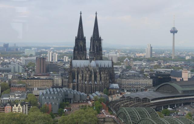 Köln Triangle Panorama: Uma visão de 360 graus de Colônia!